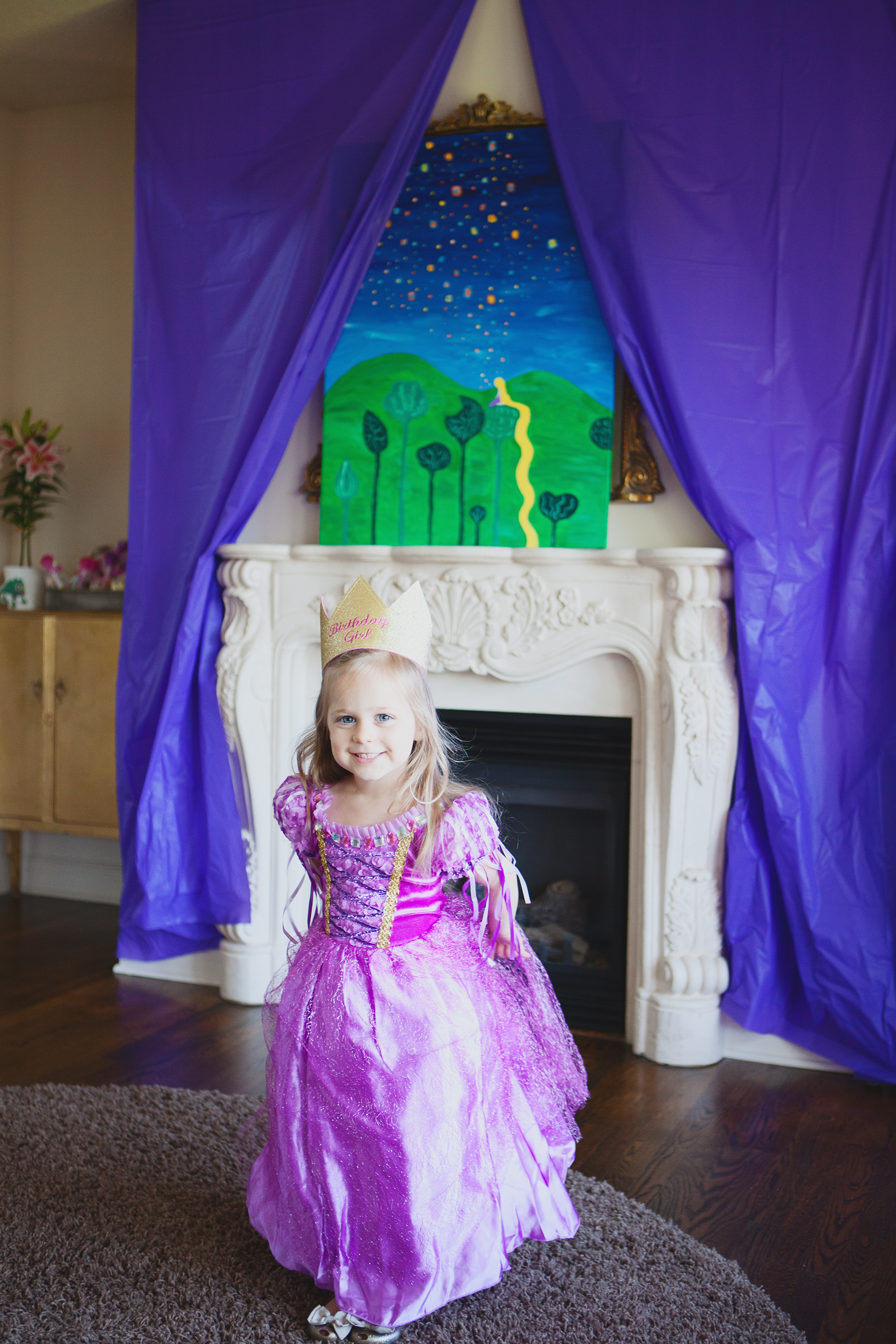 rapunzel tangled princess party