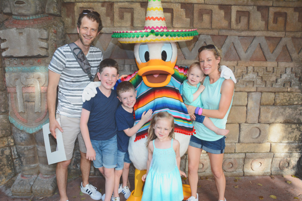 Meet Donald Duck in Mexico at EPCOT