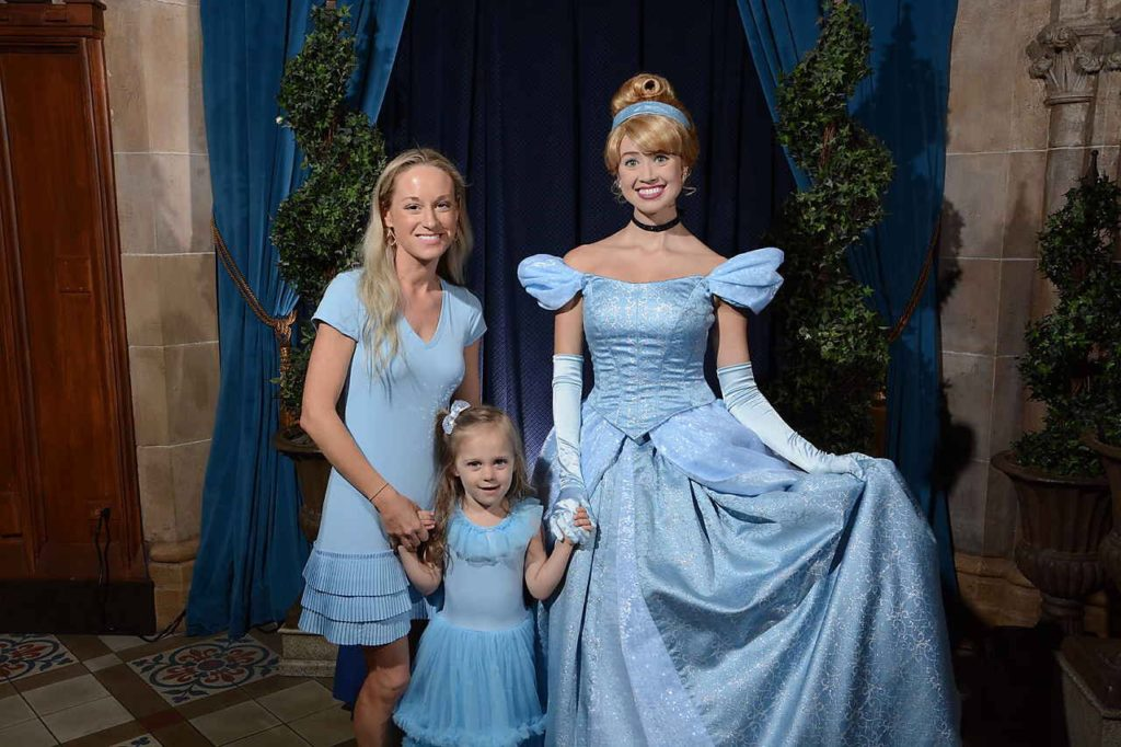 Breakfast with the Princesses at Cinderella's Castle