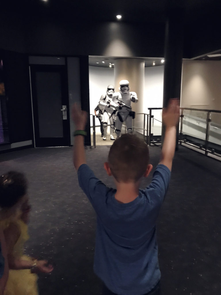Disney world storm troopers