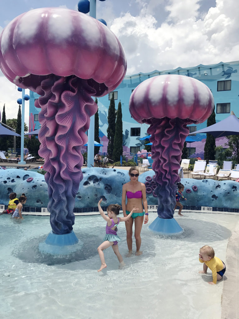 Nemo pool at the Art of Animation Resort