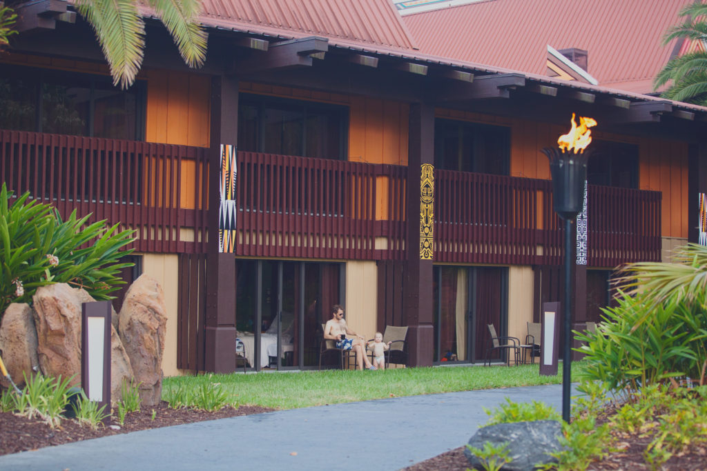 Disney's Polynesian Village Resort Niue Longhouse