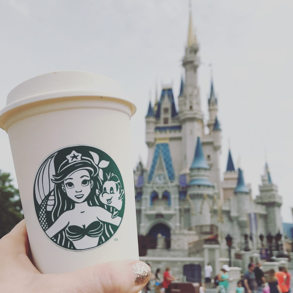 starbucks ariel little mermaid coffee cup