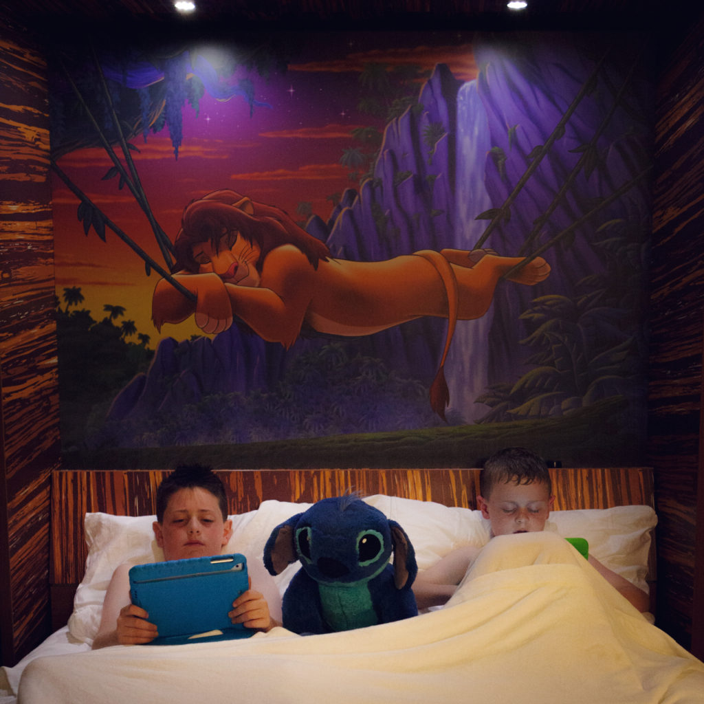 Disney's Art of Animation Lion King Suite bed