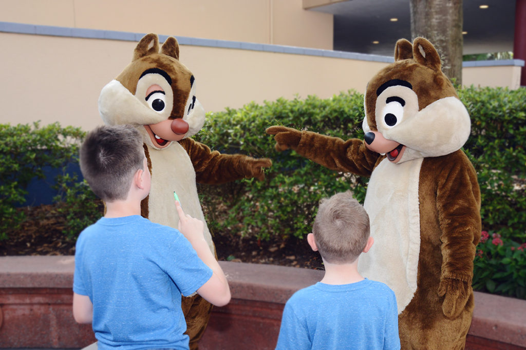 chip n dale at hollywood studios