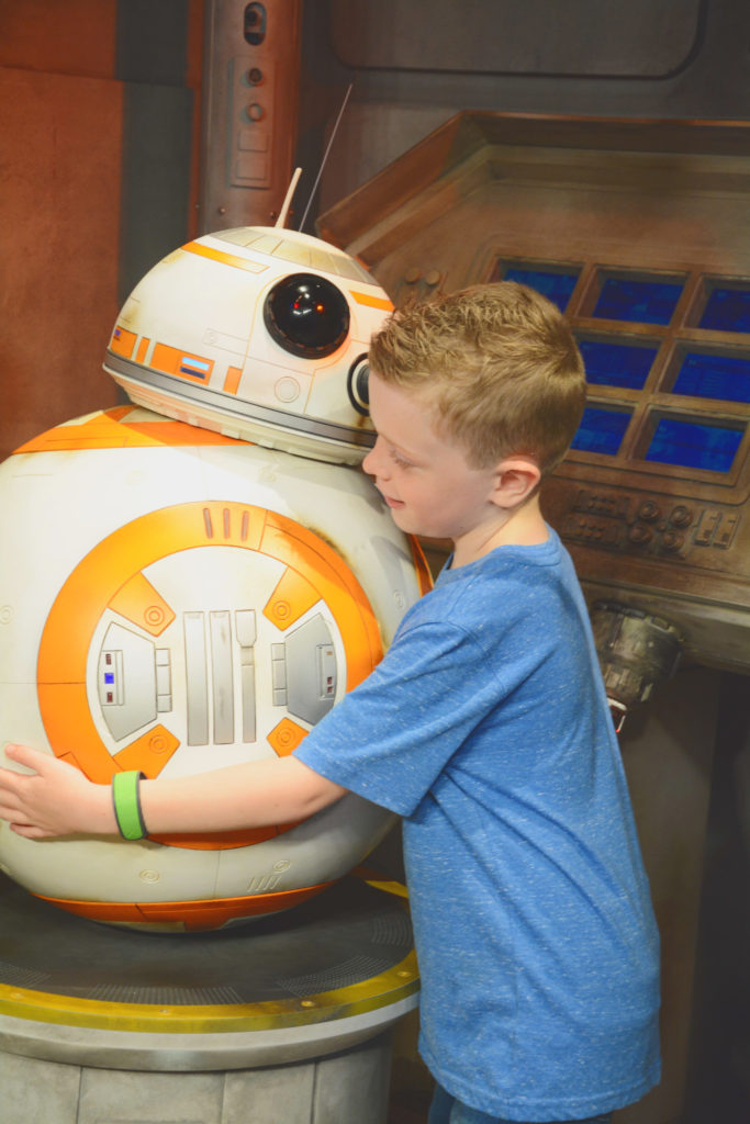 BB8 at Disney World