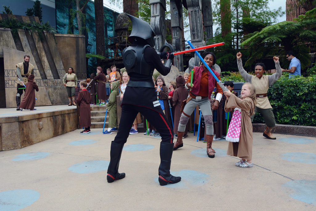 Star Wars Jedi Training at hollywood studios