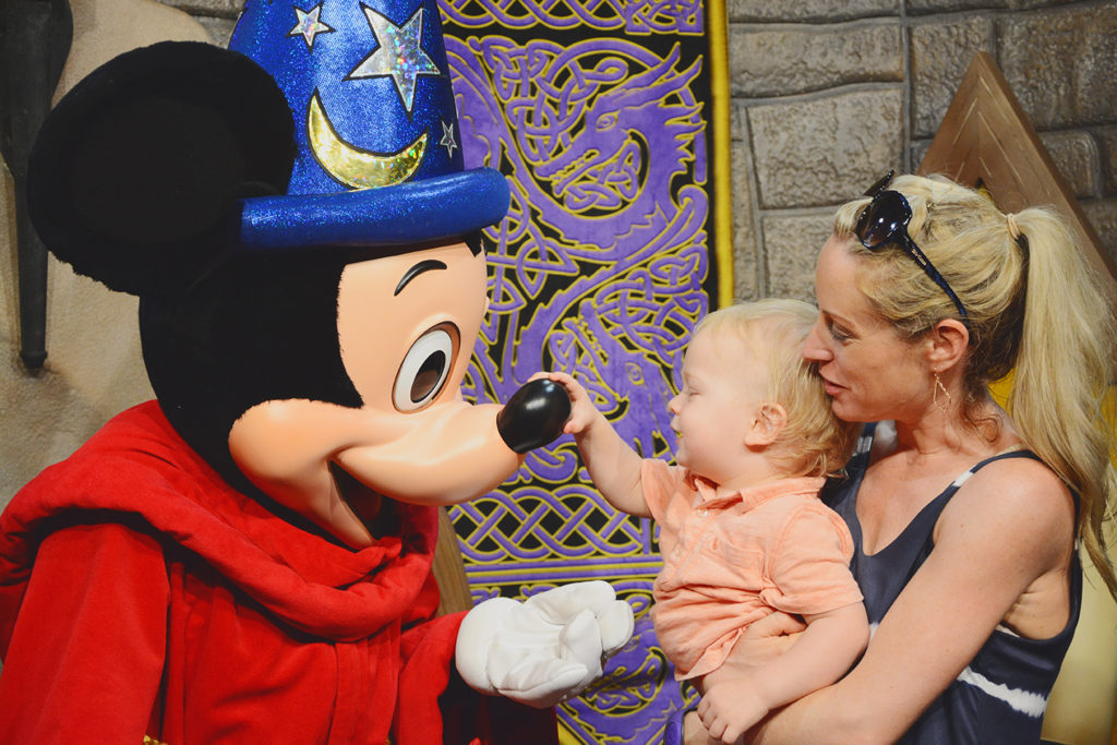 meeting Mickey Mouse in Hollywood Studios