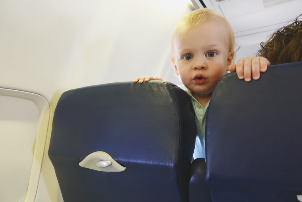 flying with kids and babies