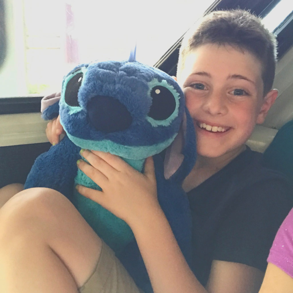 stitch stuffed animal