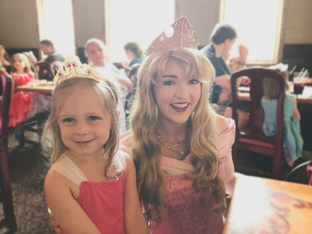 meeting Aurora at Akershus Restaurant