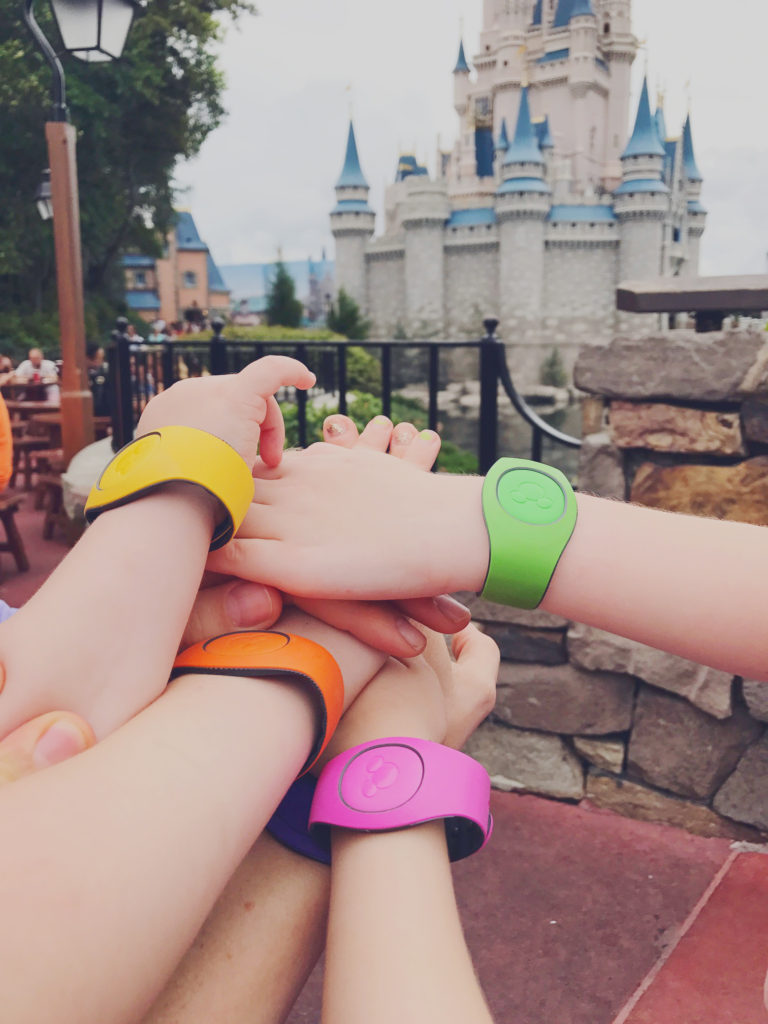 Magic Bands at Disney World