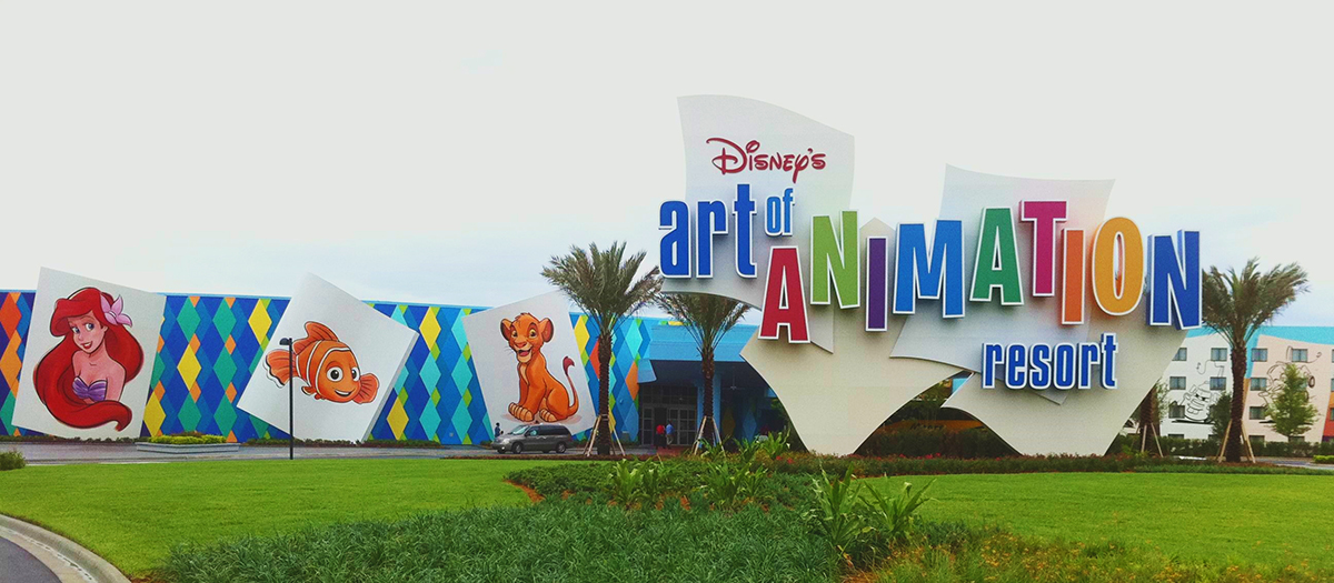 Disney Art Of Animation Resort Food Court