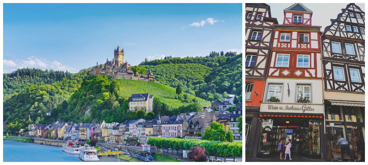 Cochem Castle Germany Mosel River
