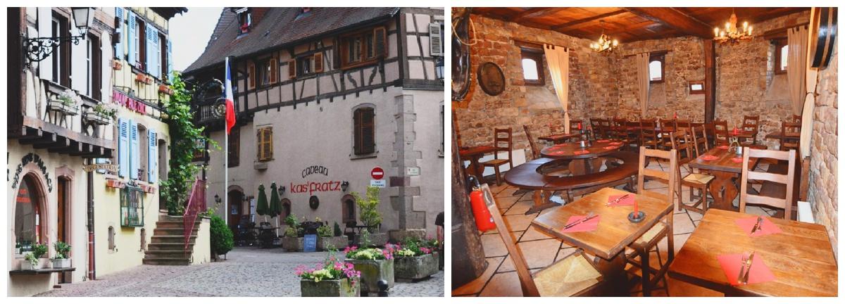 Kas'Fratz eguisheim france restaurant
