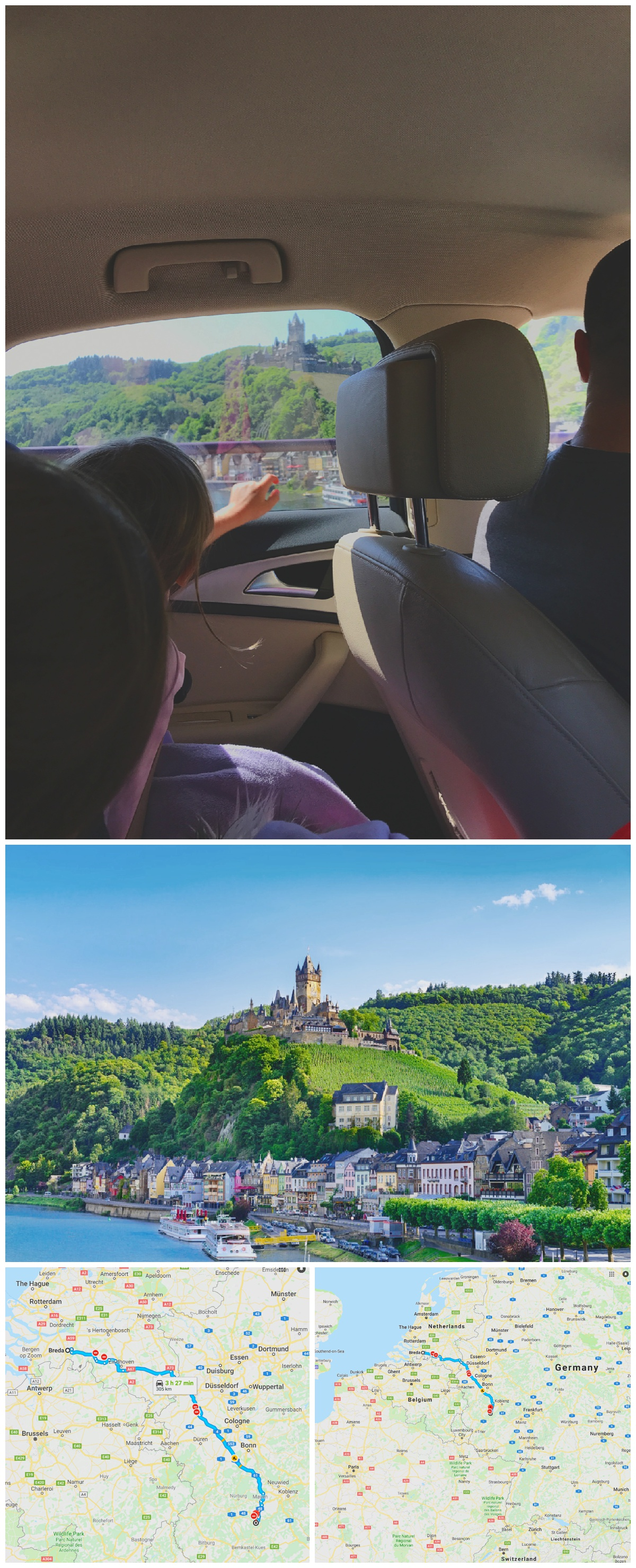 Cochem Germany Mosel Valley Castles