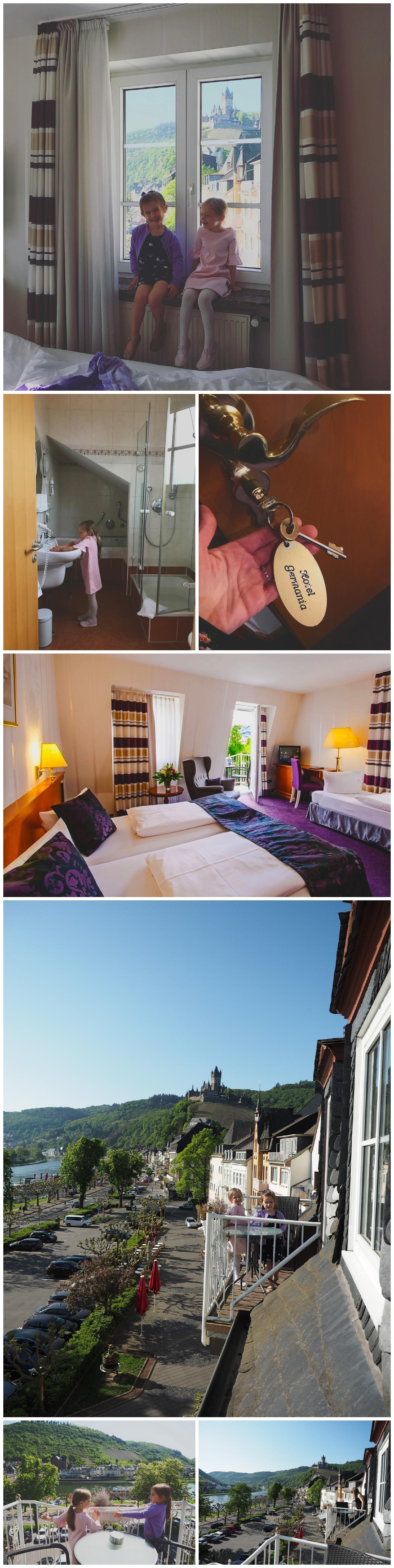 Cochem Germany Hotel Germania Mosel River