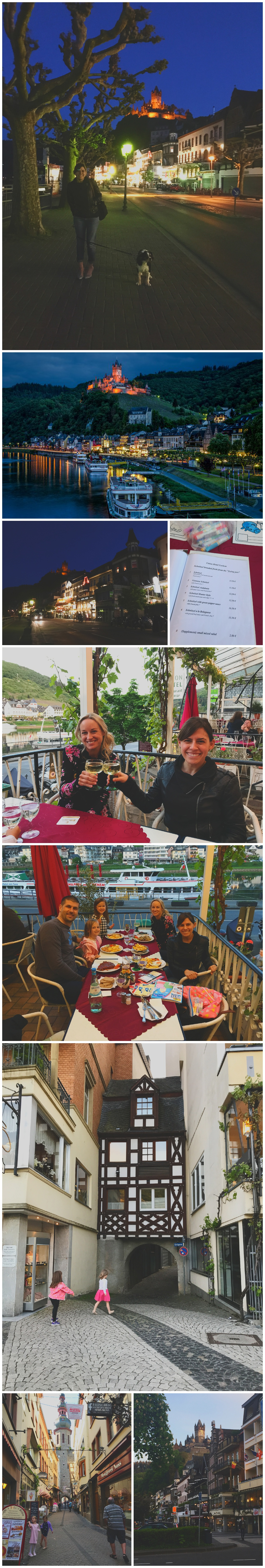 hotel with castle view Mosel cochem Germany